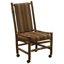 Executive Chair - Natural Hickory - Standard Leather
