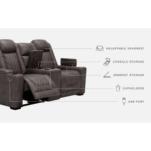 Gallery - Hyllmont Power Reclining Loveseat With Console