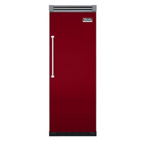 """Viking - Apple Red 30"""" Quiet Cool™ All Refrigerator - VIRB Tru-Flush™ (Right Hinge Door)"""