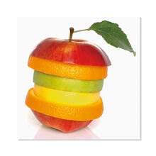 Fruits Slices and Leaf Fine Wall Art