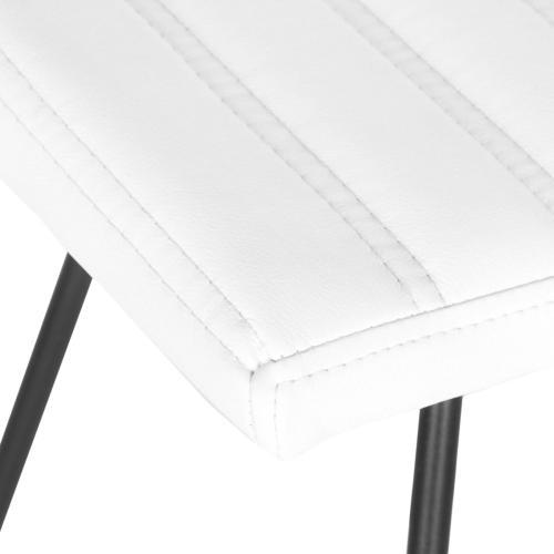 Akito Counter Stool - White
