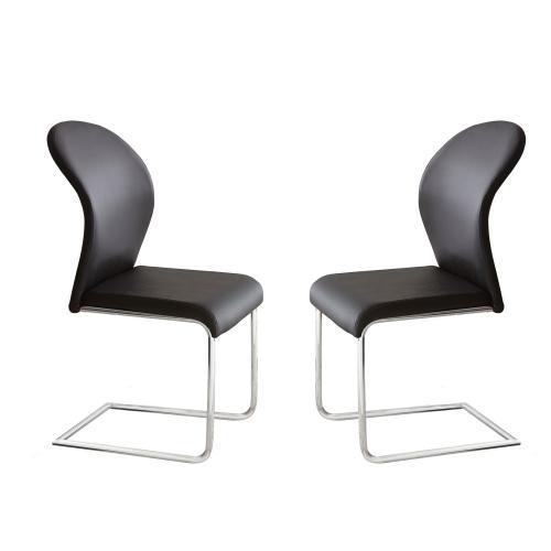 Tayside Side Chair, Black