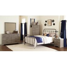 232     Metal Headboard, Footboard and Rails- Available in Twin, Full, Queen or King