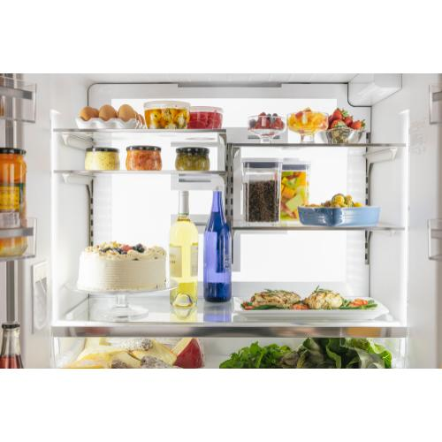 Freedom® French Door Bottom Mount Refrigerator 36'' Stainless steel T36FT810NS
