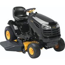 "20 hp Briggs & Stratton, 46"" reinforced deck"