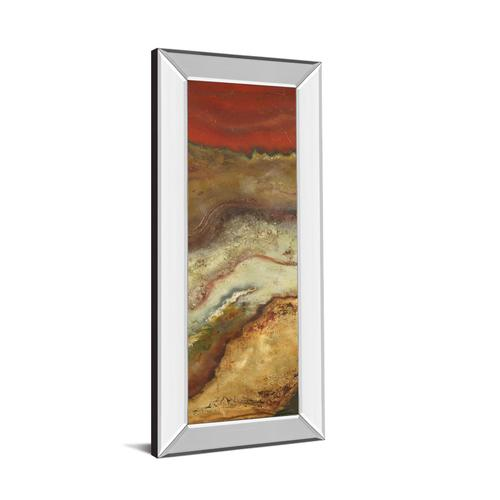 """Tierra Panel Il"" By Patricia Pinto Mirror Framed Print Wall Art"