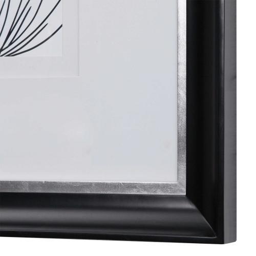 Delicate Lines Framed Print