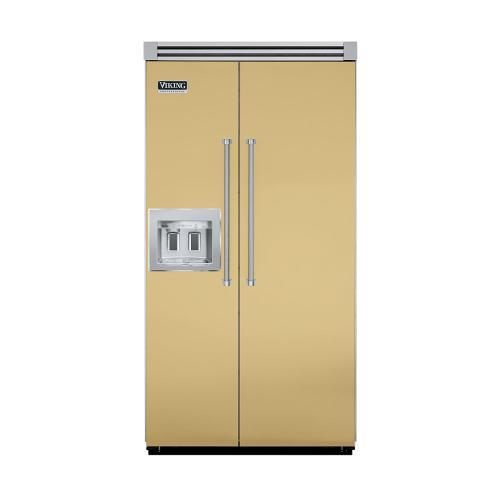 "Viking - Golden Mist 42"" Quiet Cool™ Side-by-Side with Dispenser - VISB Tru-Flush™ (42"" wide)"