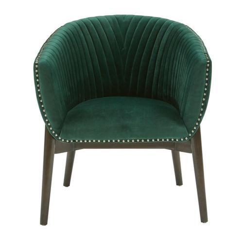 Channel Back Emerald Club Chair