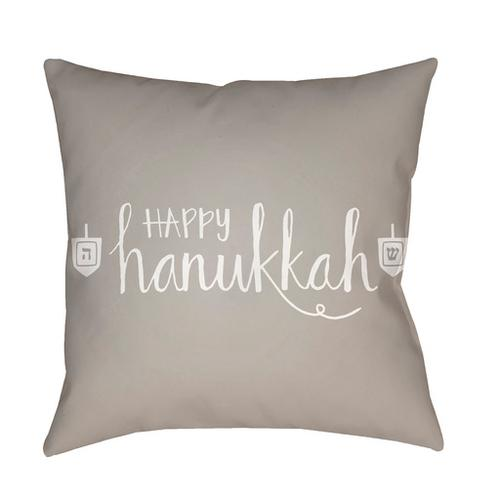 "Happy Hannukah HDY-028 18"" x 18"""