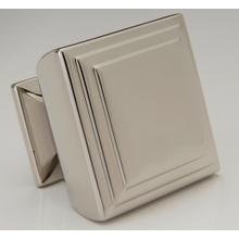 Product Image - Antique Brass Square Knob