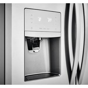 Frigidaire - Frigidaire 21.7 Cu. Ft. French Door Counter-Depth Refrigerator