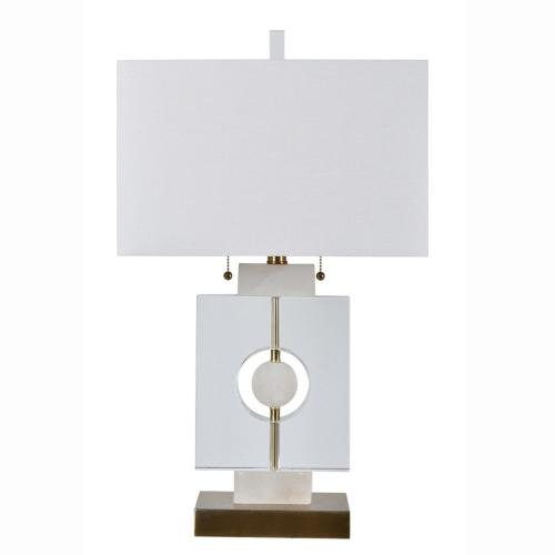 Yates Geometric Shapes Table Lamp