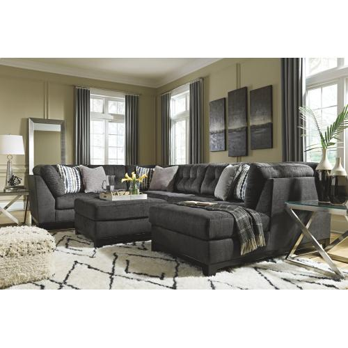 Gallery - 3-piece Sectional With Ottoman