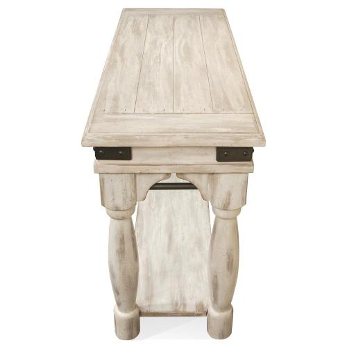 Regan - Sofa Table - Farmhouse White Finish