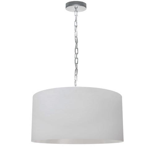 Product Image - 1lt Braxton Medium Pendant, Wht Shade, PC