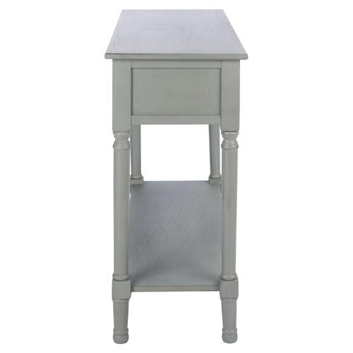 Safavieh - Tate 2 Drawer Console Table - Distressed Grey