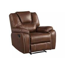 Katrine Manual Recliner, Brown