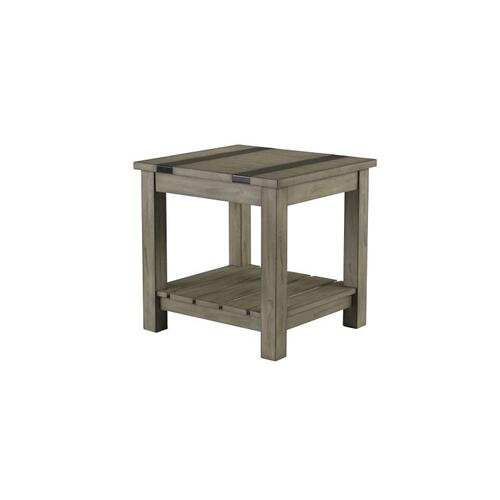 Nelson Rustic Grey End Table