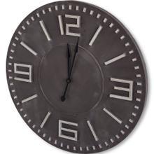 "Devonshire II 42"" Round Oversize Industrial Wall Clock"