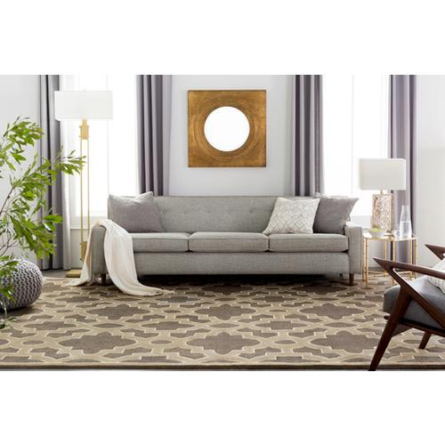 """Surya - Dotted Pirouette DP-005 22""""H x 22""""W"""