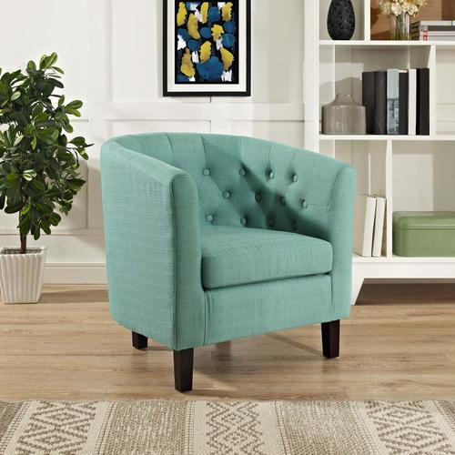 Modway - Prospect Upholstered Fabric Armchair in Laguna