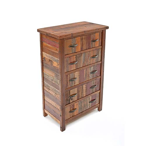 Green Gables Furniture - Back To the Barn - 5 Drawer Upright Chest