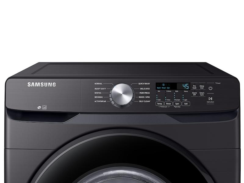 4.5 cu. ft. Front Load Washer with Vibration Reduction Technology+ in Black Stainless Steel Photo #2