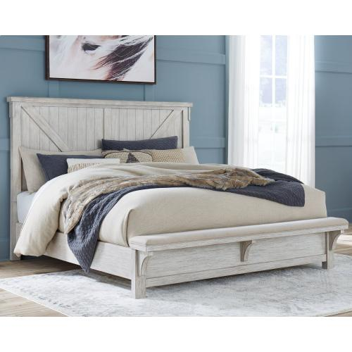 Brashland California King Panel Bed