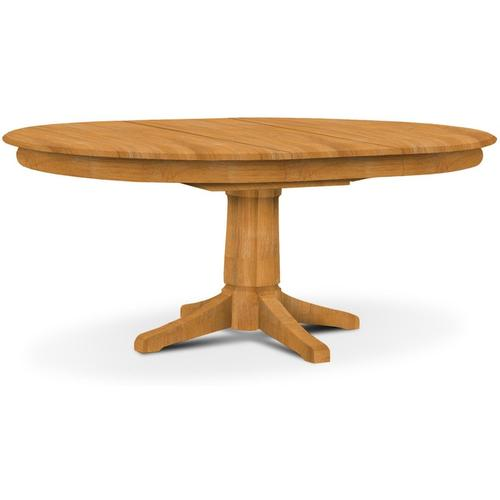 Butterfly Leaf Pedestal Table (top only) / Transitional Pedestal