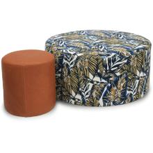Pastilli Rounded Ottoman