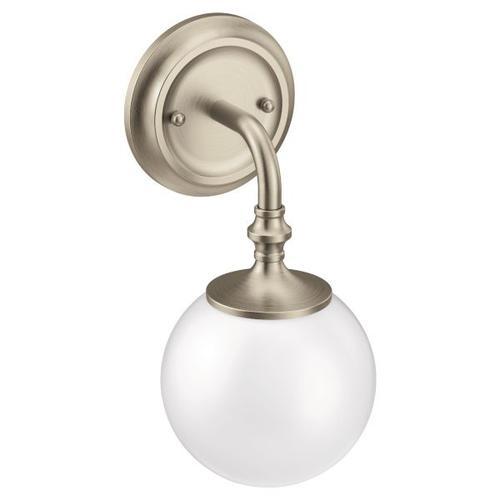 Colinet brushed nickel bath light