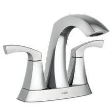 Product Image - Lindor ™ Chrome Two-Handle High Arc Bathroom Faucet