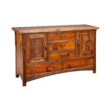 Mossy Oak Royal Mission 2 Door 5 Drawer Buffet
