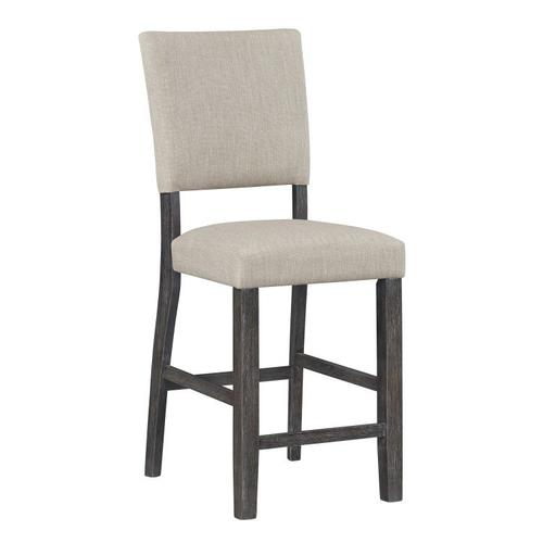 Standard Furniture - Auburn 2-Pack Counter Height Chairs, Charcoal