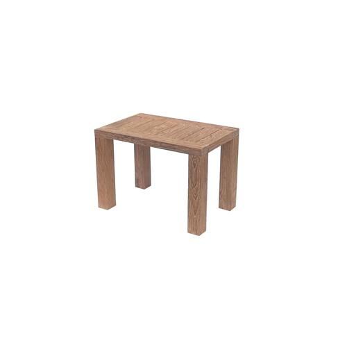 Reims Outdoor End Table, Reclaimed Teak Ot1207-3