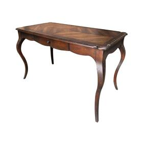 Downington Abbey Writing Desk In Aged Brown Sugar