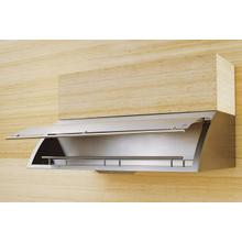 "30"" Cheng Design Cache Under Cabinet Hood with Internal Storage - Stainless Steel"