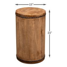 Tambour Drum Table