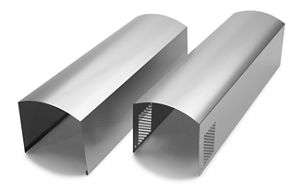 Wall Hood Chimney Extension Kit - Stainless Steel Photo #1