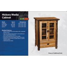 Hickory Media Cabinet