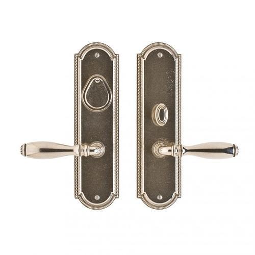 """Rocky Mountain Hardware - Ellis Entry Set - 3"""" x 11"""" White Bronze Medium"""