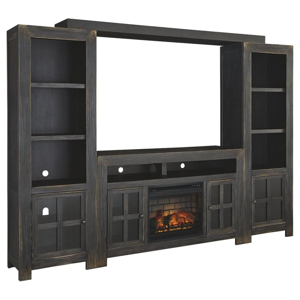 Gavelston 4-piece Entertainment Center With Electric Fireplace
