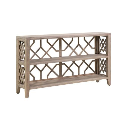 Crestview Collections - Hawthorne Estate Open Fretwork Console