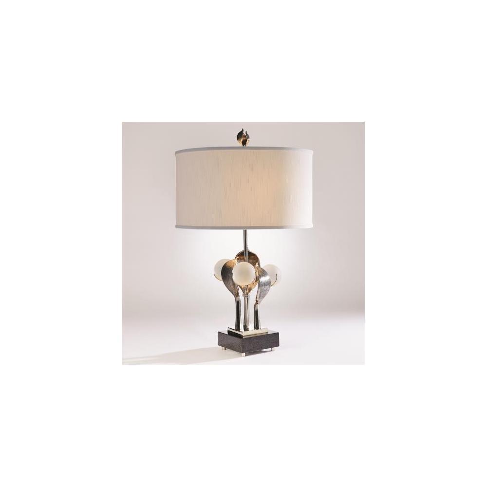 Eden Table Lamp-Nickel