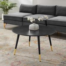 Vigor Round Coffee Table in Black