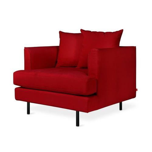 Margot Chair Velvet Sangria / Black