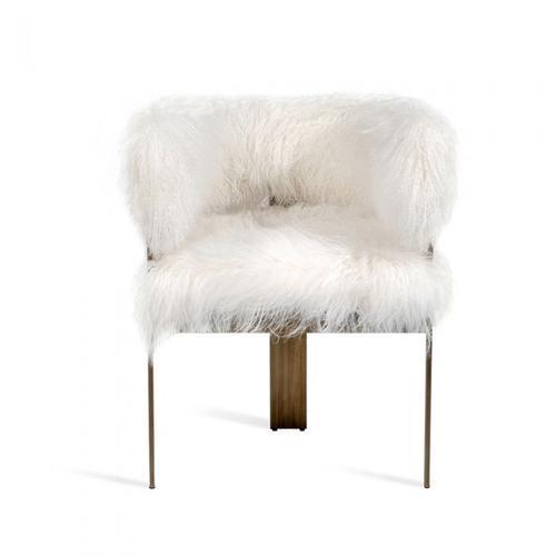 Darcy Chair - Ivory Sheepskin