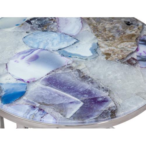 Bassett Mirror Company - Andalusia Purple Stone End