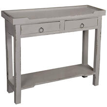 See Details - Console Table - Distressed Antique Gray